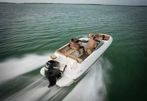 Boats with outboard motor