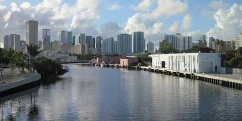 5th Street Marina on the Miami River